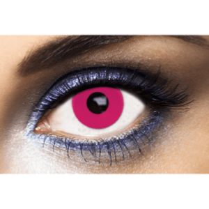 Lentilles Roses 1 an - Pink Out -